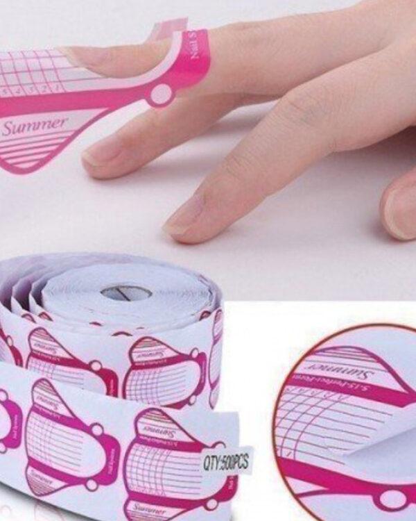 moldes uñas