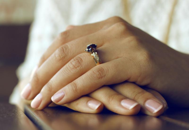 manicura francesa uñas de gel